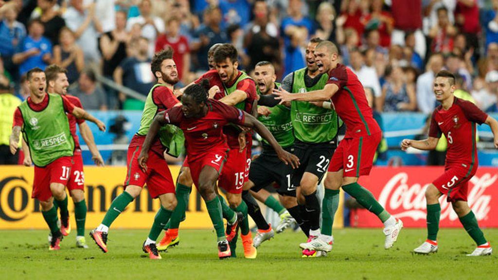 fae8ffe42b Portugal gana la Eurocopa a Francia en París (1-0) con Cristiano lesionado  en el banquillo