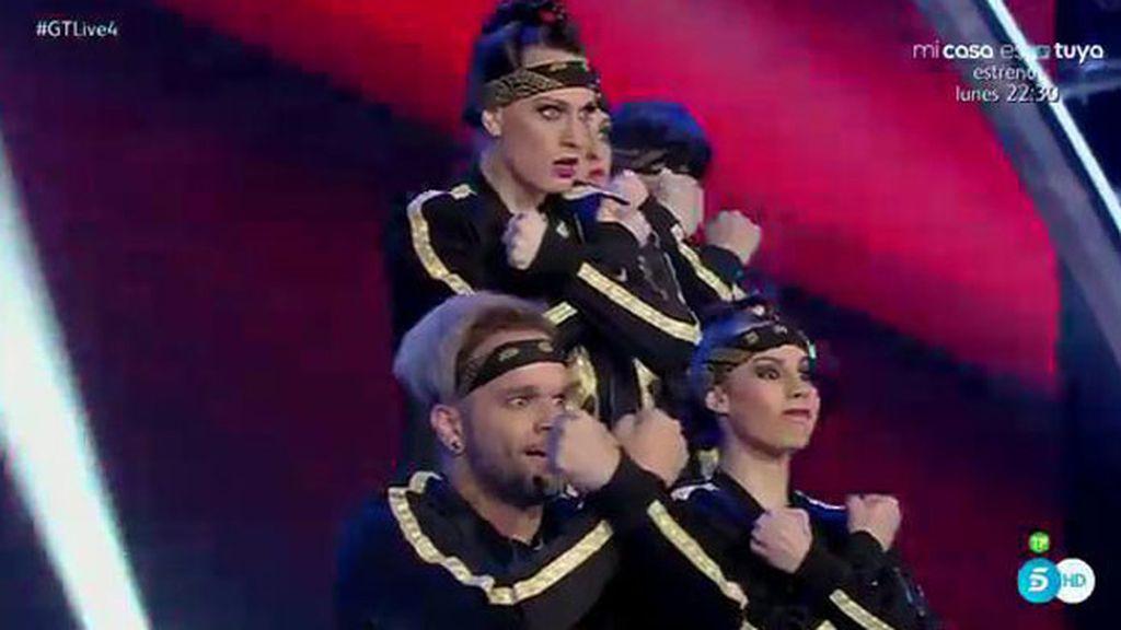 X-Adows consigue con su ritmo que al jurado le entren ganas de bailar