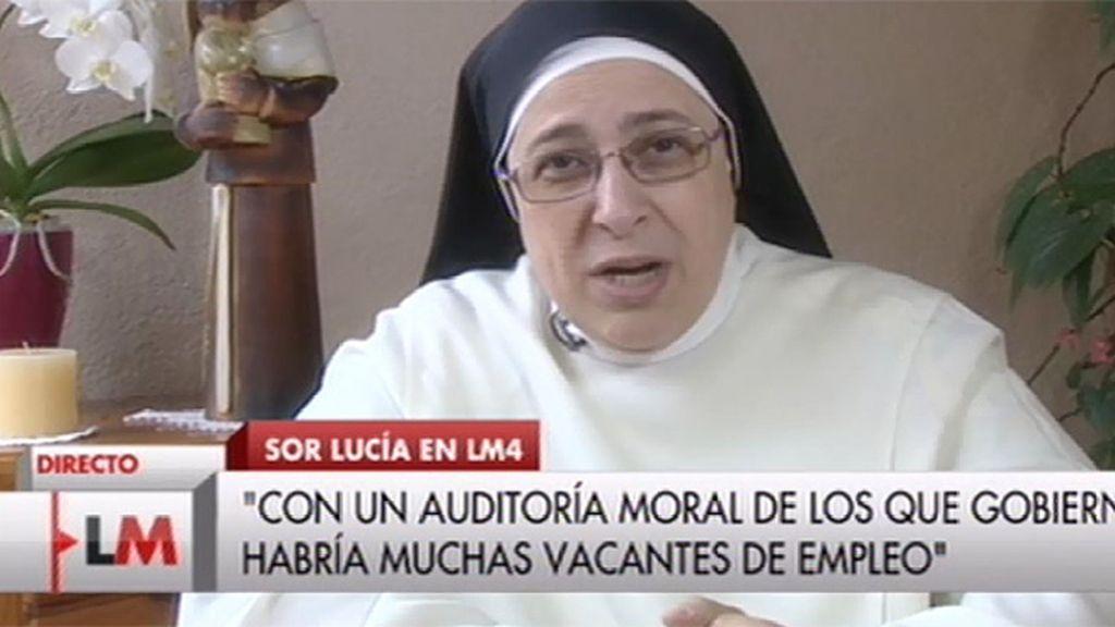 """Sor Lucía: """"Lo que se ha hecho es basurear una vez más a los trabajadores"""""""