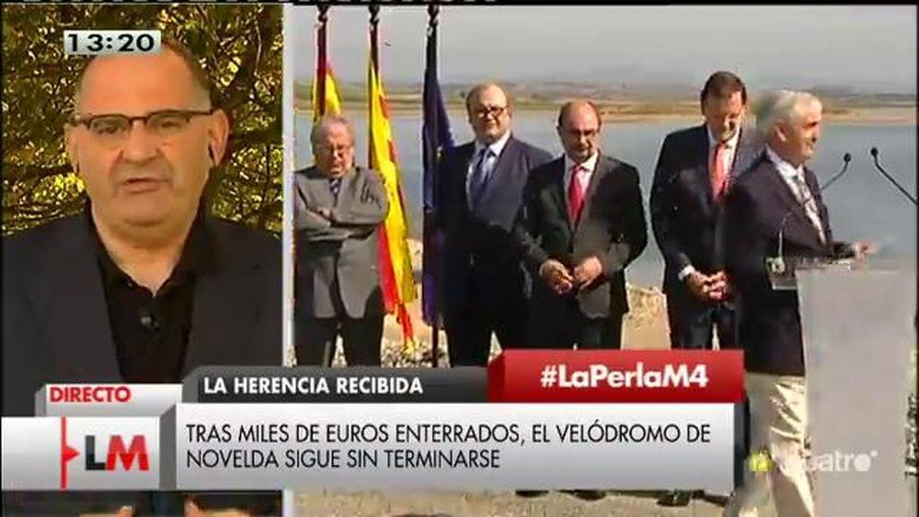 """Antón Losada: """"Tras la crisis, el paro, el sufrimiento… El cemento está a la baja en material electoral"""""""
