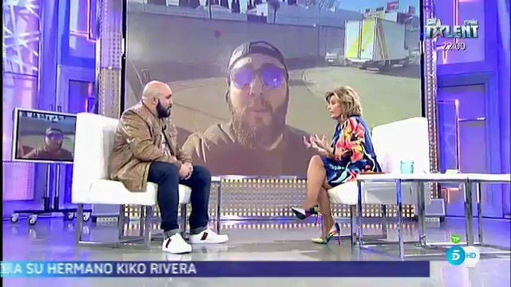 """Kiko Rivera anima a MªTeresa Campos a hacerse 'youtuber': """"Hagamos un vídeo juntos"""""""