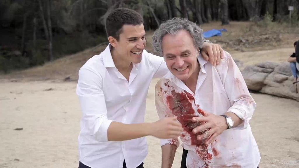 """José Coronado, emocionado en el final de 'El Príncipe': """"Te quiero, Álex"""""""
