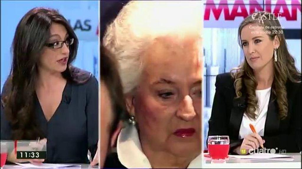 """Sol Sánchez (IU-UP): """"Es el poder económico, que manda sobre el político, el que evita que se investigue adecuadamente"""""""