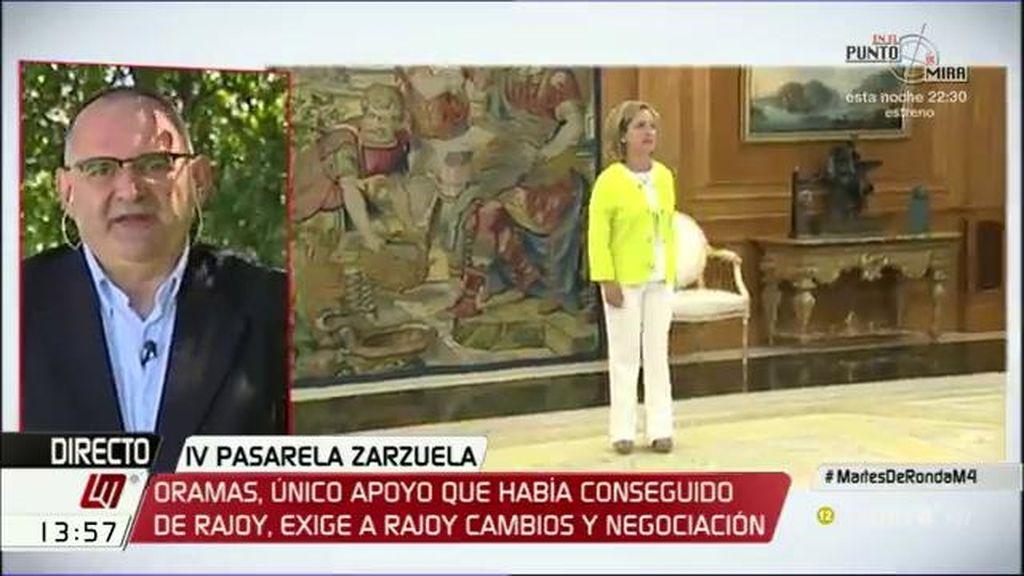 """Losada: """"Estamos asistiendo a un teatro de marionetas dirigido por el maestro Rajoy"""""""
