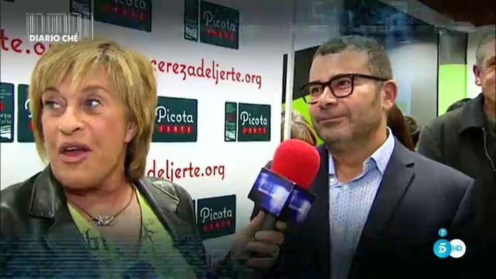 Jorge Javier recibe el 'Premio Picota del Jerte' al mejor presentador de televisión