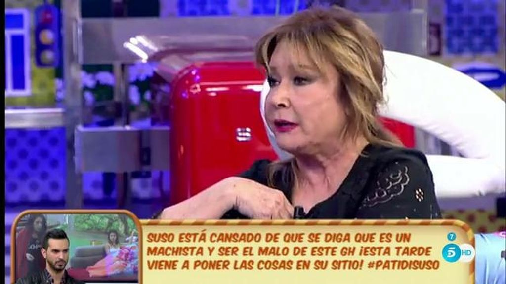 """Mila: """"Doña Ana ha sido colaboradora en muchas cosas que ha hecho Isabel"""""""