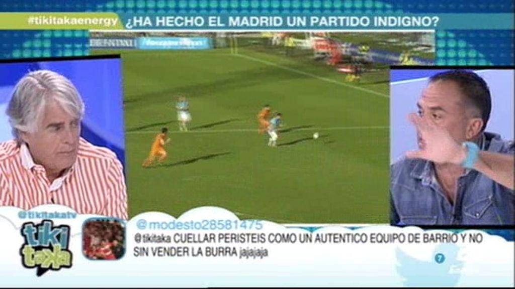 """Cuéllar a Siro y Látigo: """"Es injusto que matéis al Madrid; Me quedo con vuestras caras"""""""