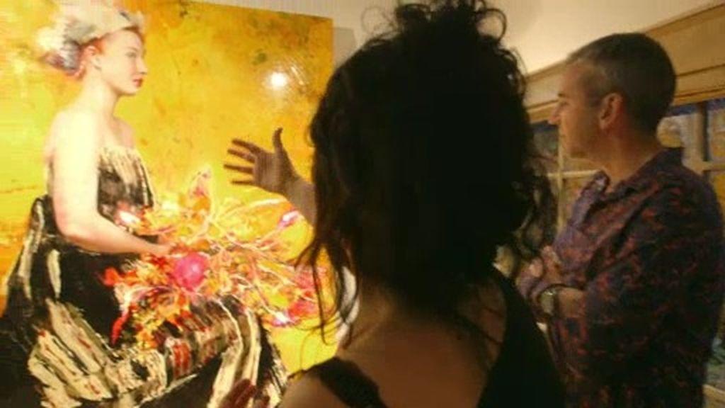 """Lita Cabellut, sobre su obra: """"¿Qué es lo que tardo en pintar? ¡Toda una vida!"""""""