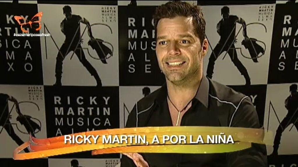 Ricky Martin, a por la niña