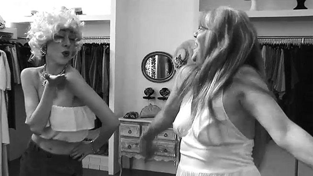 Natalia y Roxana, dos Marilyn Monroe