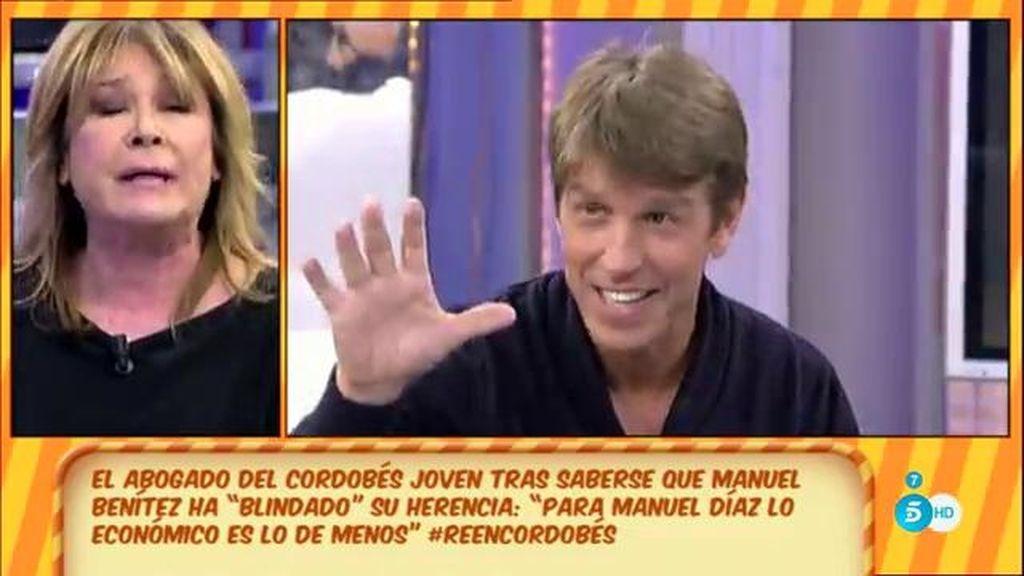 "Mila, a M. Díaz: ""Yo he oído a M. Benítez, 'El Cordobés', hacer comentarios de ti"""