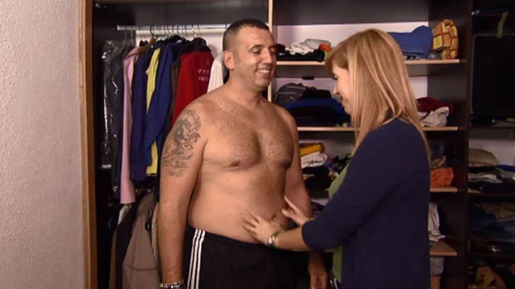 Sergio quiere perder 15 kilos y ponerse en forma