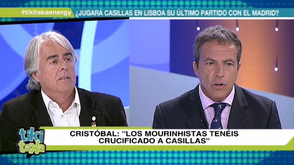 "Cristóbal Soria: ""Los 'mourinhistas' sois cuatro zumbados"""