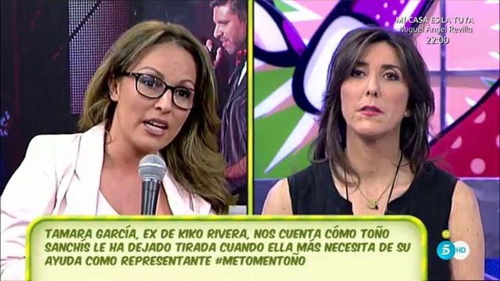 """Tamara García, expareja de Kiko Rivera: """"Ahora estoy bien, pero he vivido de okupa"""""""