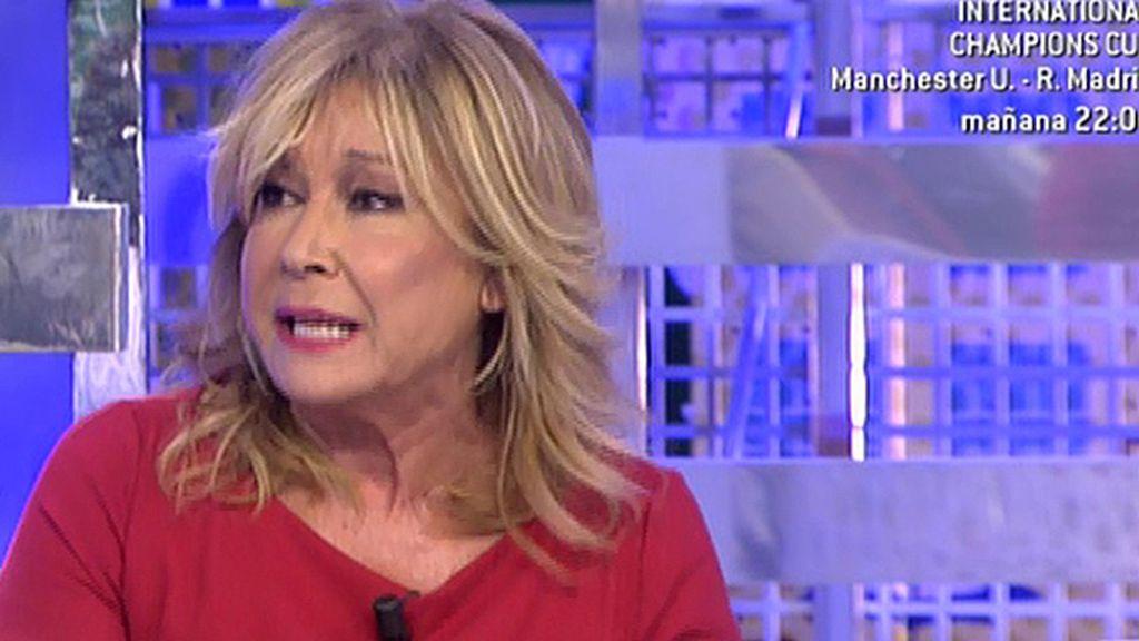 """Gloria Camila le dijo a Chabelita que Alberto quiso """"ligar"""" con ella, según Mila Ximénez"""