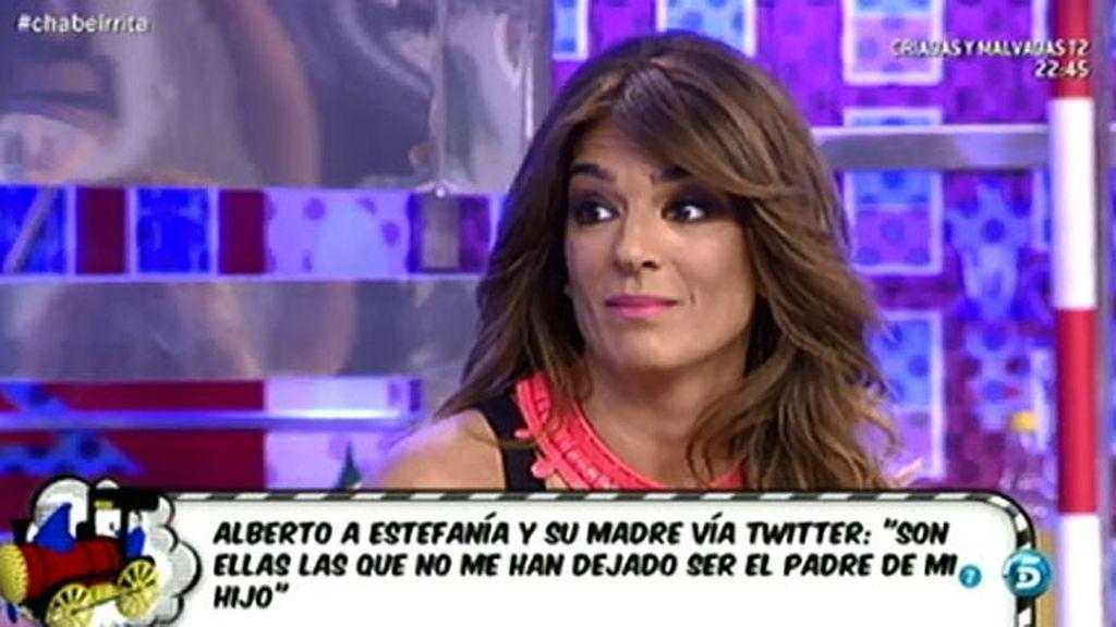 """Raquel Bollo, sobre los tuits de Alberto: """"Es la primera vez que Chabelita vio que se refería al hijo de Estefanía como su hijo"""""""