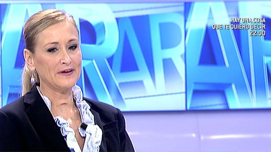 """Cristina Cifuentes: """"El juez y el fiscal del caso de la Infanta se están extralimitando y pueden distorsionar el proceso"""""""