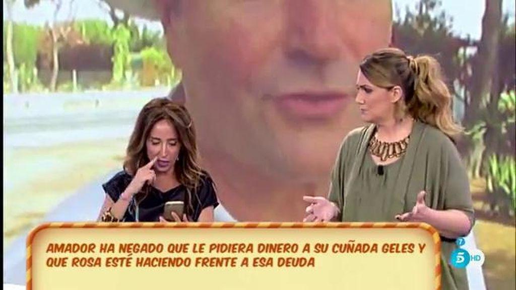 """María Patiño: """"Amador pidió un préstamo y se avaló con la casa de Geles"""""""