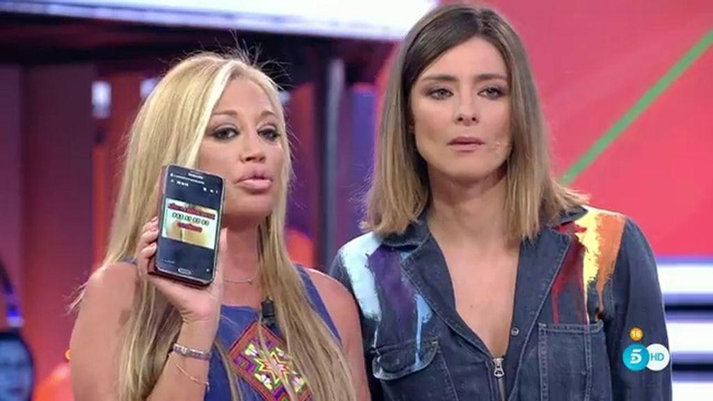 """Belén Esteban: """"Es vergonzoso que utilicen el número de Laura como número erótico"""""""