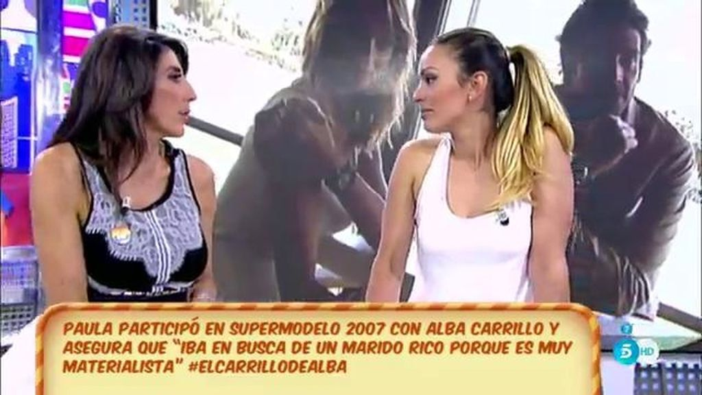"""Paula Bernáldez, de Alba Carrillo: """"Es un poco prepotente"""""""