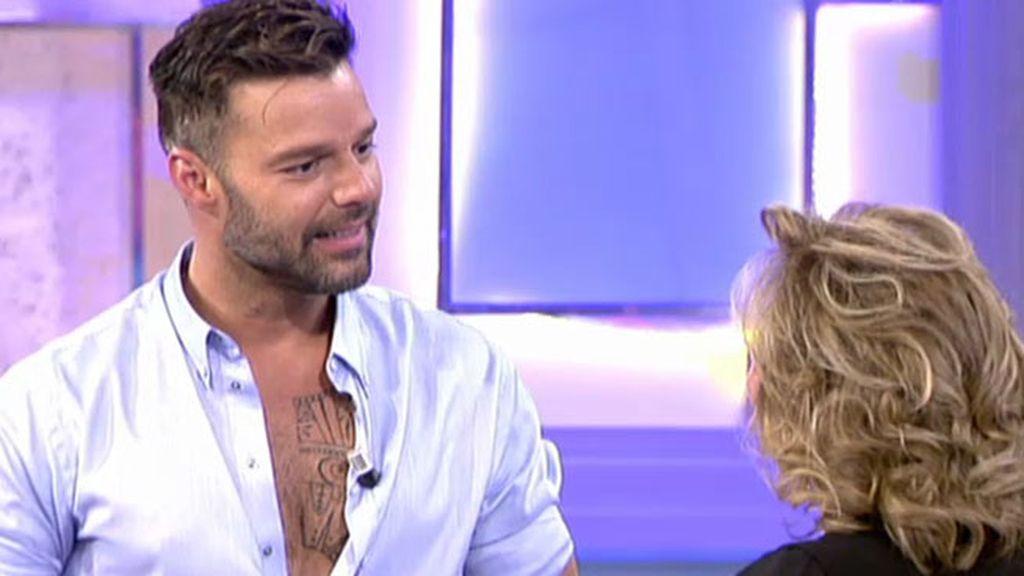 """Ricky Martin: """"He encontrado una familia que me mantiene con los pies sobre la tierra"""""""