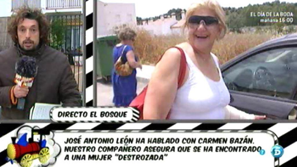 Carmen Bazán desmiente que Belén le haya impedido ver a su nieta Andrea