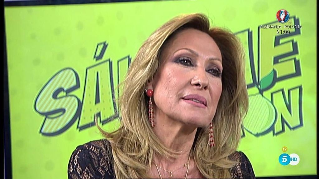 """Rosa Benito: """"El único trabajo que tengo es donde estoy, 'Sálvame"""""""