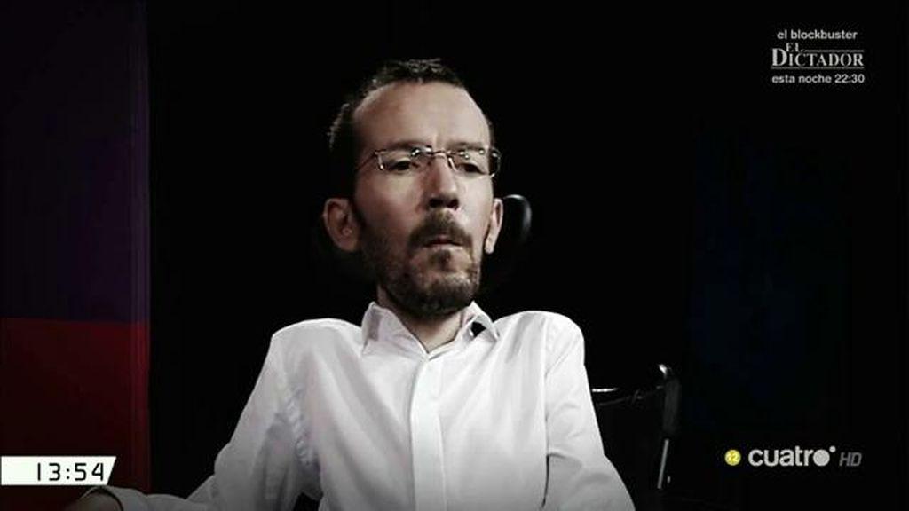 Pablo Echenique contrató a un asistente sin darle de alta durante 14 meses