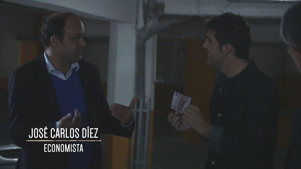 """José Carlos Díez: """"Un billete de 500 euros es como un cheque al portador"""""""