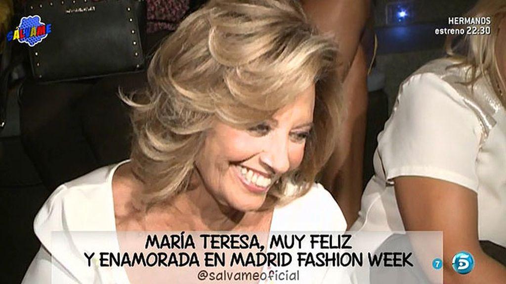 """María Teresa Campos: """"Me he quedado a Edmundo para mí sola"""""""