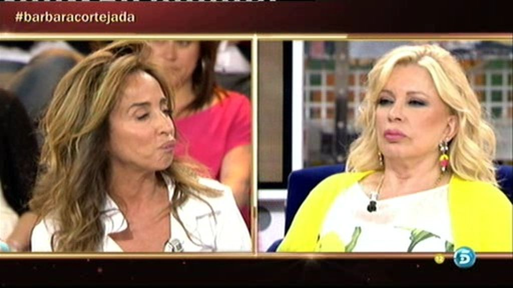 """Bárbara Rey: """"Antonio no me gusta, pero me gusta menos María del Monte"""""""