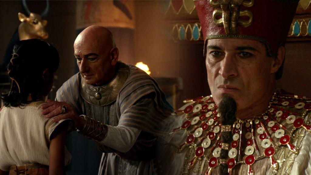 """El visir, a Tutankamón: """"Esto es lo que significa ser faraón"""""""