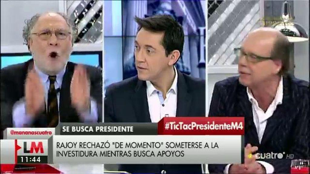 """Ernesto Ekaizer, sobre la renuncia de Rajoy: """"Es un golpista"""""""