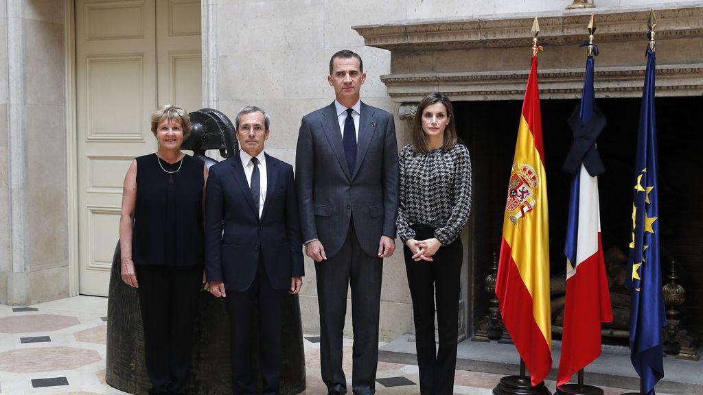 Los reyes muestran sus condolencias por el atentado de Niza al embajador de Francia