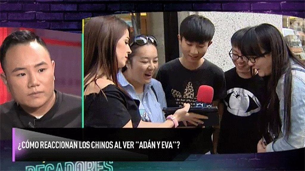 Carmen nos muestra las reacciones de los chinos al ver 'Adán y Eva'