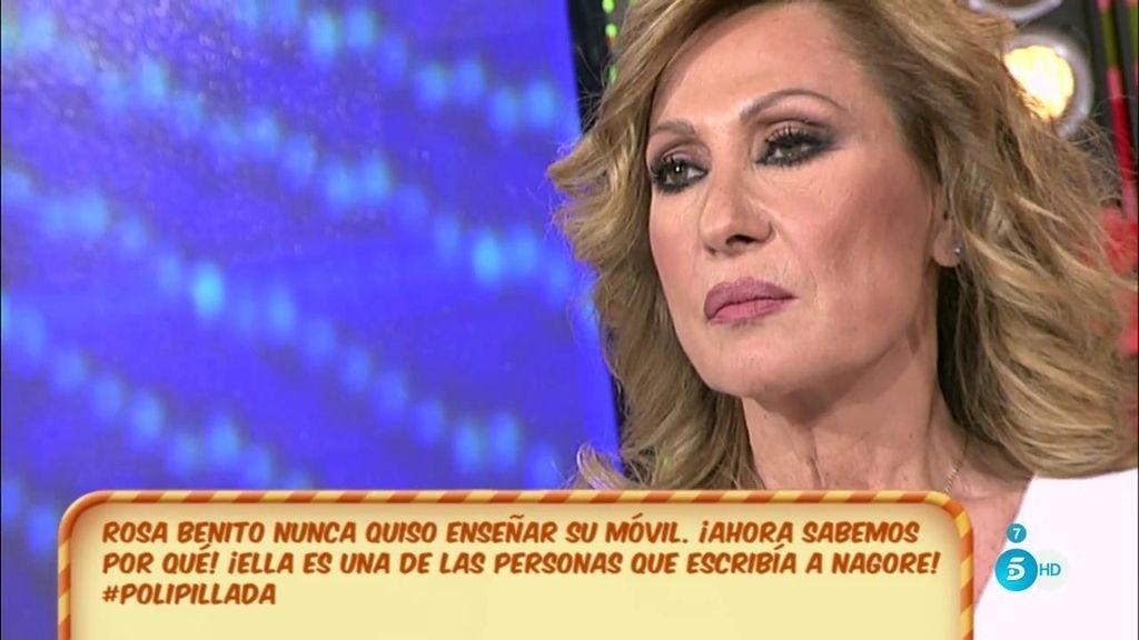 Rosa sí ha celebrado las críticas de Nagore Robles hacia Mila Ximénez, según el 'Poli'