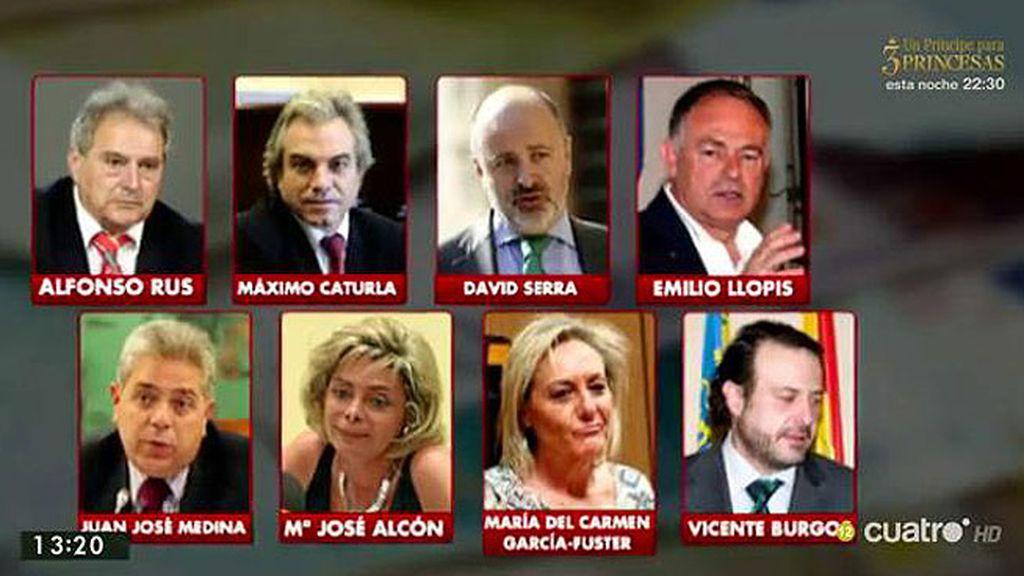 ¿Cómo actuaban los imputados en la operación Taula del PP valenciano?