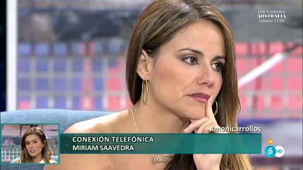 """Miriam llorando, de Mónica: """"Ya basta, ¿por qué no acepta esta relación?"""""""