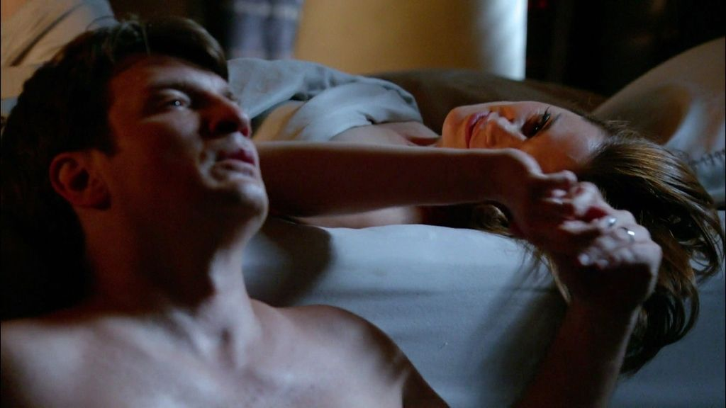 """Así fue el romántico """"tiempo muerto del tiempo muerto"""" de Castle y Beckett"""
