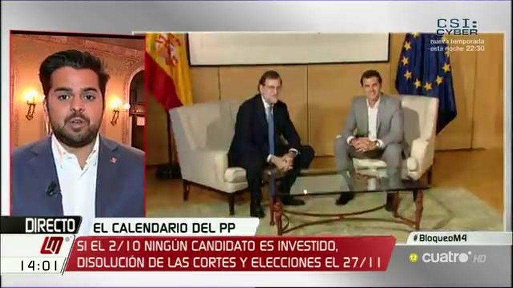 La entrevista a Fernando de Páramo, a la carta