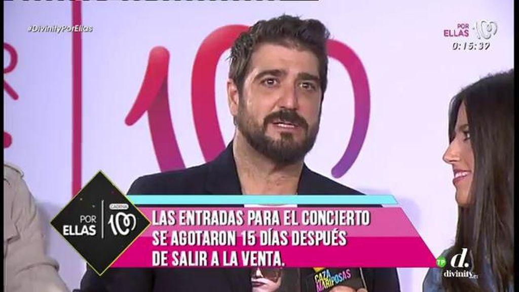 """Antonio Orozco: """"Hay que estar al lado de los héroes que luchan contra el cáncer"""""""