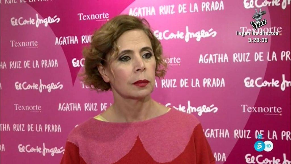 """Agatha Ruiz de la Prada, tras la ruptura con Pedro J: """"Es como una enfermedad de libro"""""""