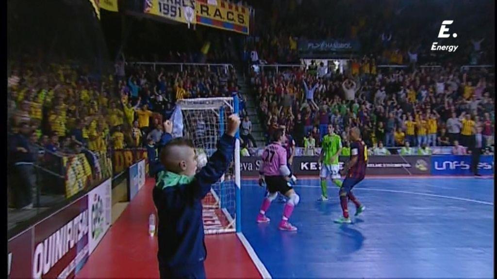 Gol de Saad (Barça 4-3 Inter Movistar)