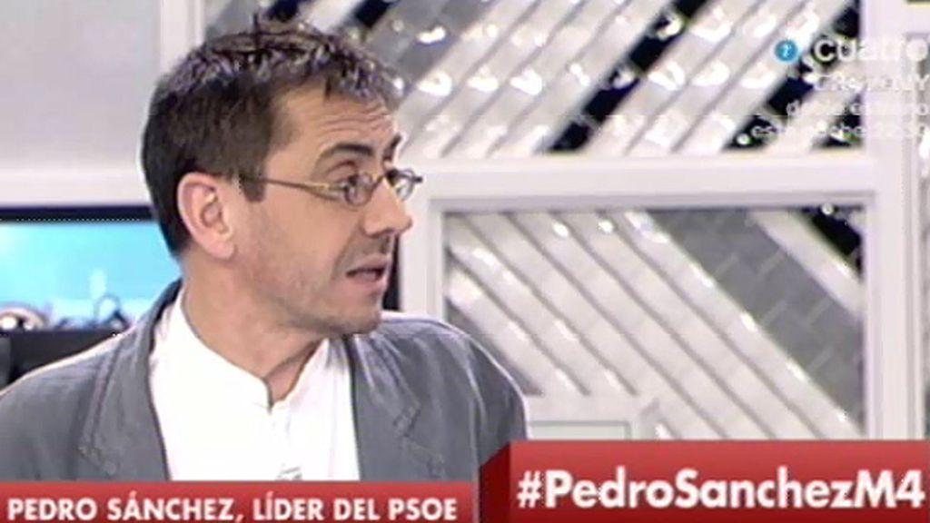 """Monedero: """"En el PSOE han hecho unas primarias por el empuje de Podemos"""""""
