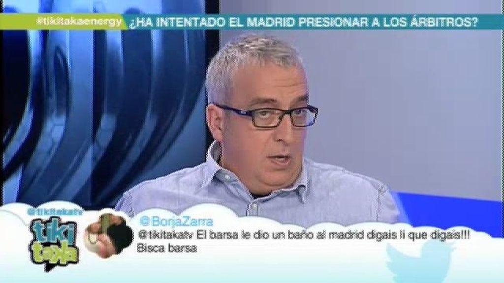"""Leo Harlem: """"El Madrid jugó mucho peor que el Barça, ésa es la realidad"""""""