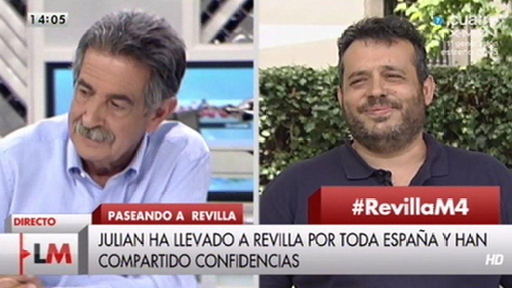 Concemos a Julián, el taxista de Miguel Ángel Revilla en su nuevo programa