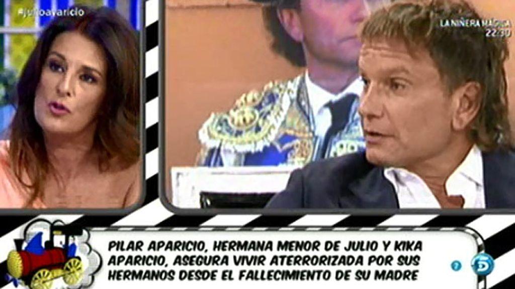 Ángela Portero desvela los motivos de enfrentamiento entre los hermanos Aparicio