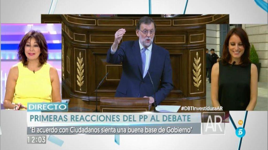 """A. Levy: """"Esperábamos que el PSOE no tuviera secuestrada a España más tiempo"""""""