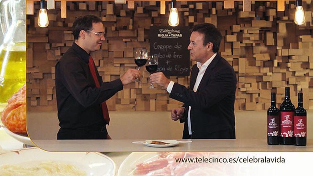Crepe de rabo de toro y vino de Rioja en el 'El Market', el maridaje perfecto