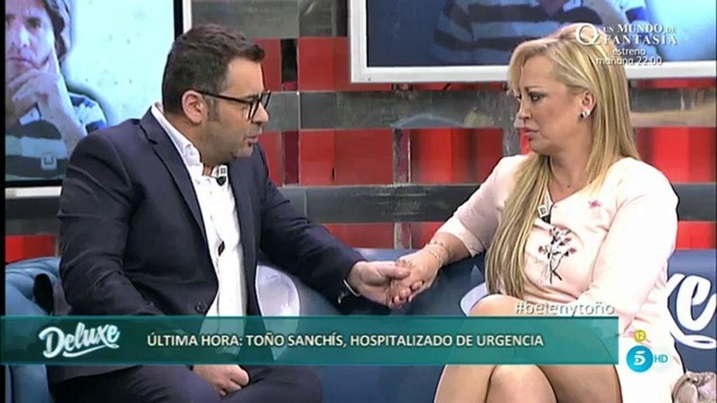 """Jorge Javier, a Belén: """"Me parecería muy miserable que te culparan a ti por lo ocurrido"""""""